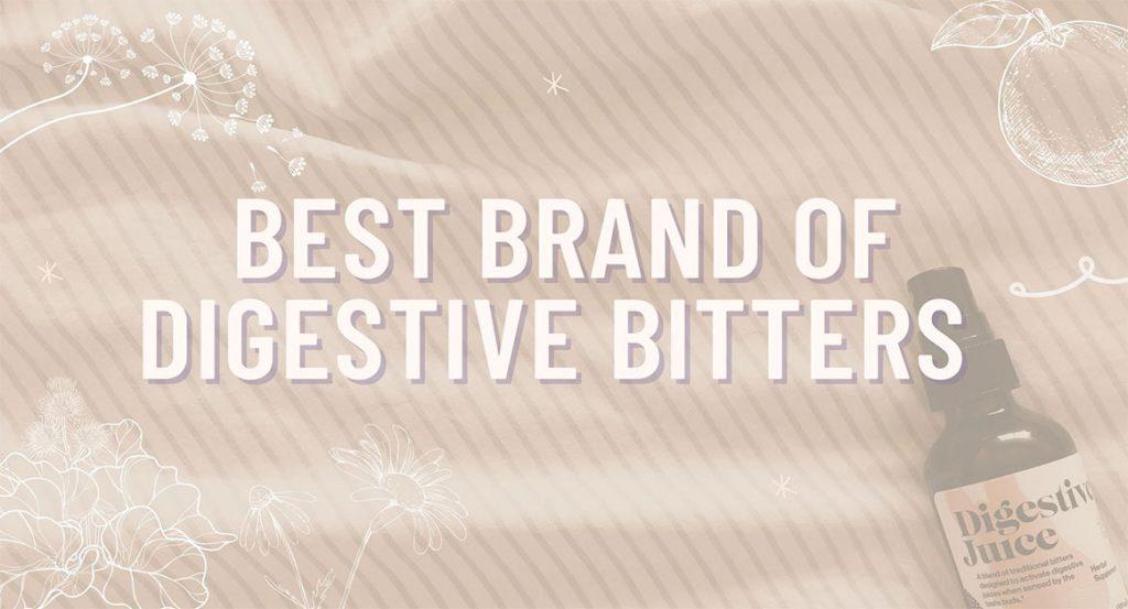 Best Brand Of Digestive Bitters